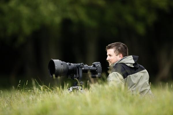 Petr Šimon u jelenů v Dánsku