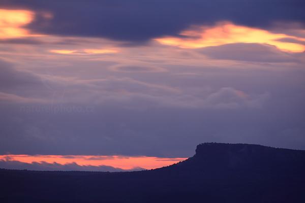 Večerní pohled pětistovkou na Grosser Zirkelstein