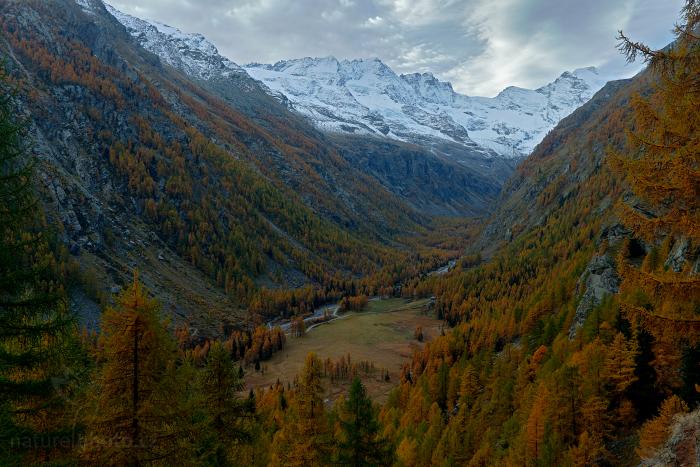Podzim v údolí Valnontay
