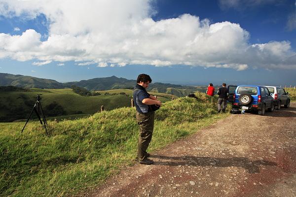 Odjezd z rezervace Monteverde
