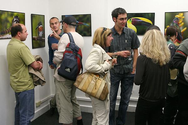 Vernisáž výstavy, 6.5.2009
