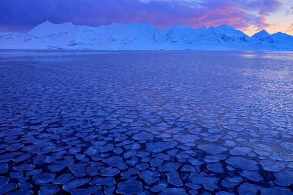 Land of ice, Svalbard, Norway